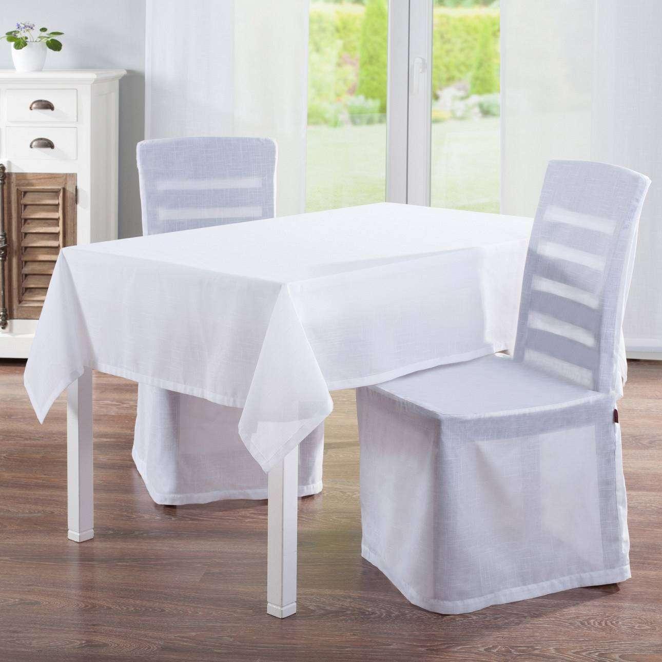 Staltiesės (stalui su kampais) 130 x 130 cm kolekcijoje Romantica, audinys: 128-77