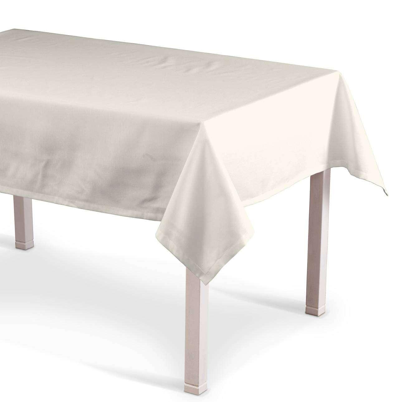 Rechteckige Tischdecke 130 x 130 cm von der Kollektion Jupiter, Stoff: 127-00