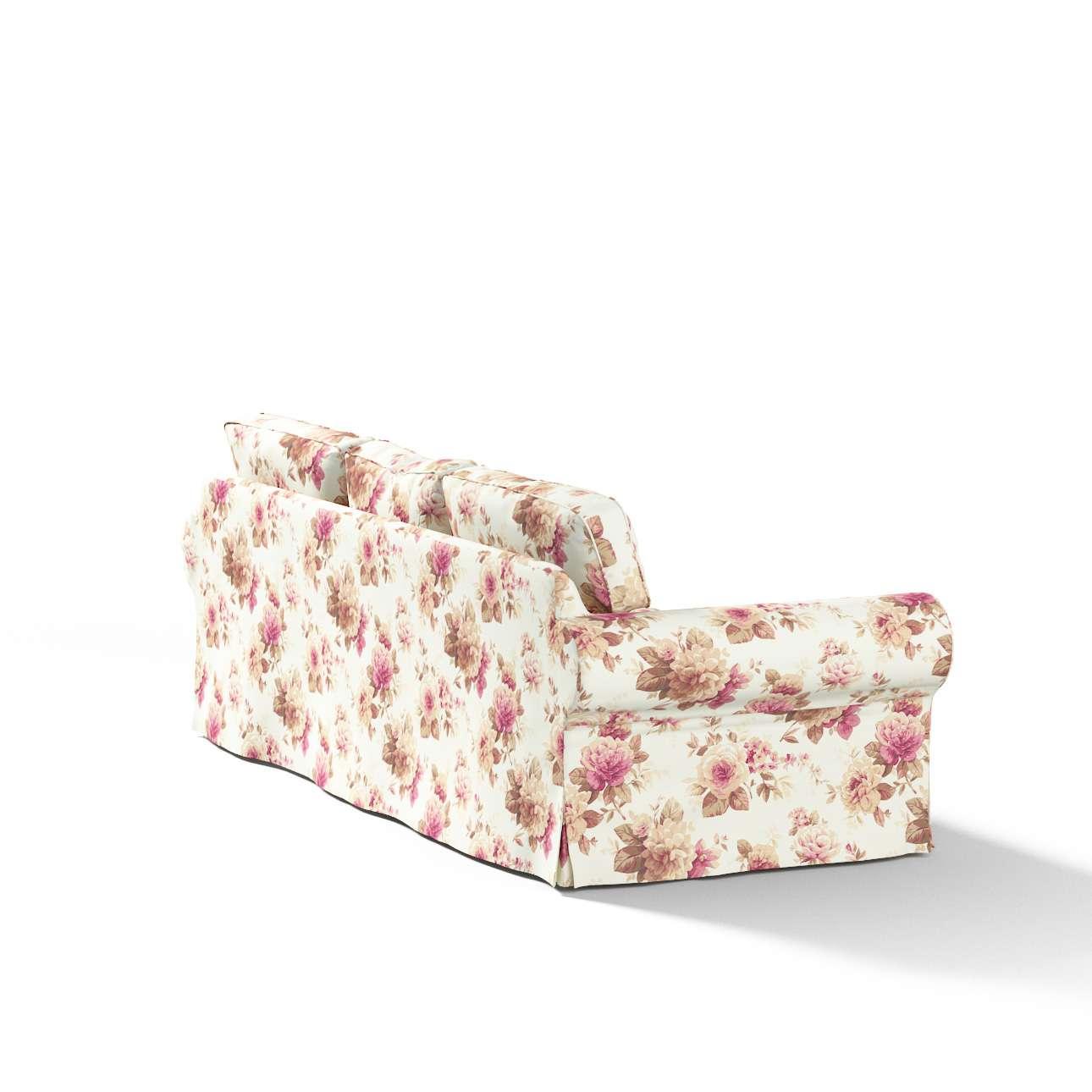 Pokrowiec na sofę Ektorp 3-osobową, nierozkładaną w kolekcji Mirella, tkanina: 141-06
