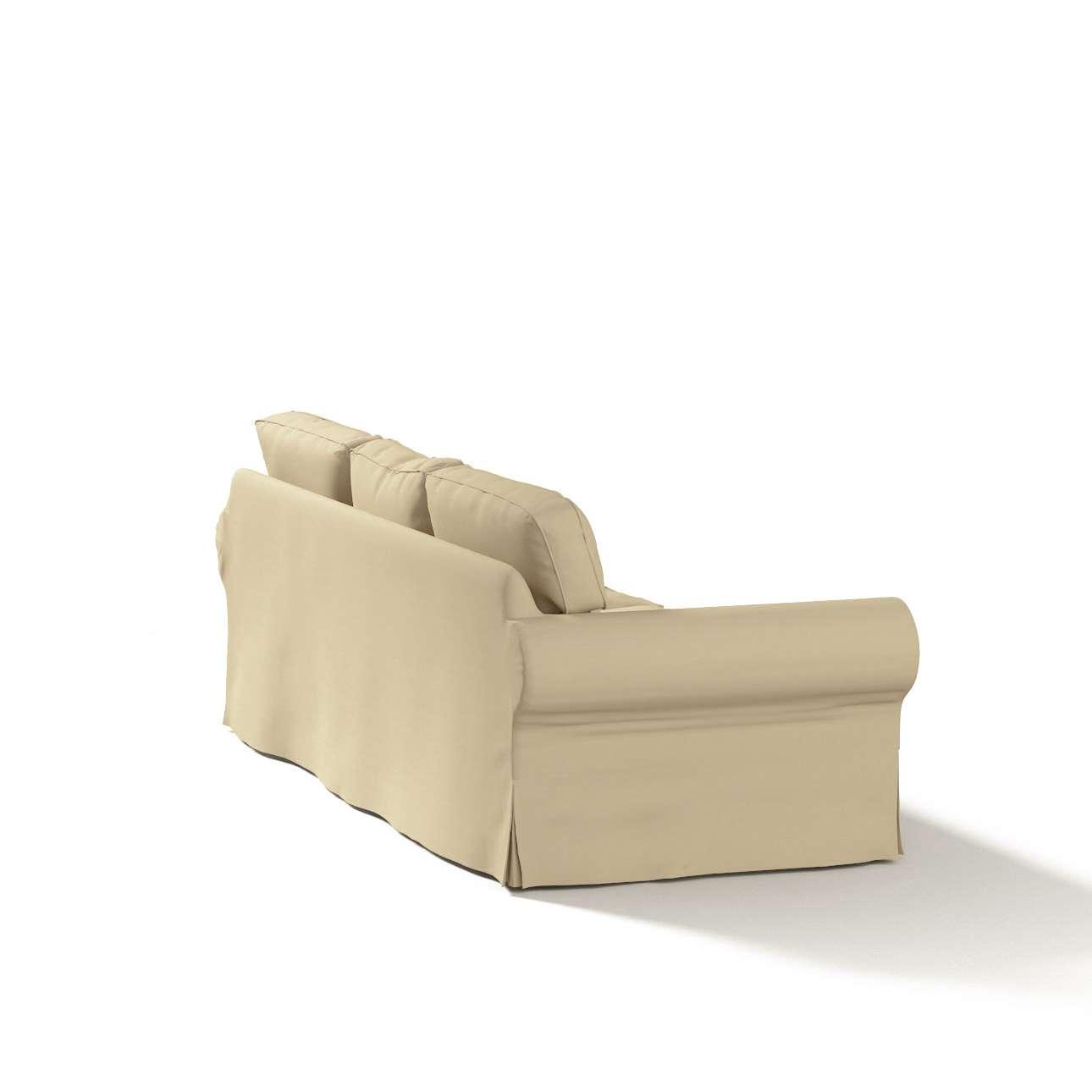 Potah na pohovku IKEA  Ektorp 3-místná, nerozkládací pohovka Ektorp 3-místná v kolekci Cotton Panama, látka: 702-01