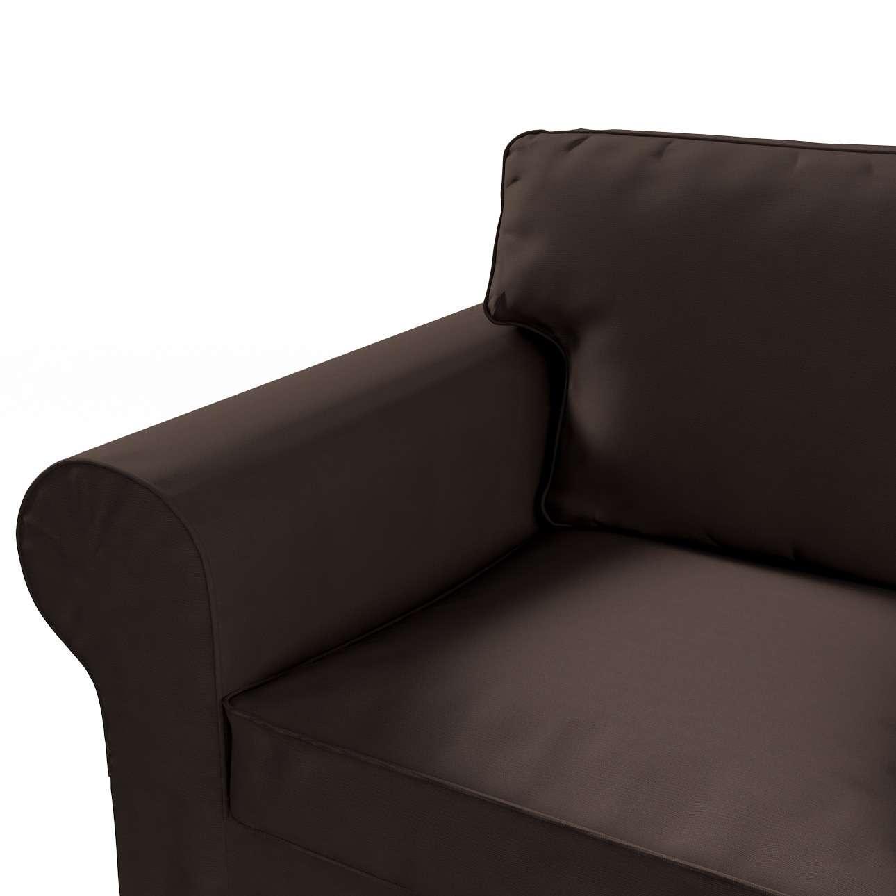 Pokrowiec na sofę Ektorp 3-osobową, nierozkładaną Sofa Ektorp 3-osobowa w kolekcji Cotton Panama, tkanina: 702-03