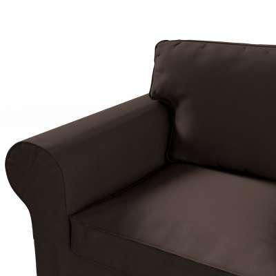Pokrowiec na sofę Ektorp 3-osobową, nierozkładaną w kolekcji Cotton Panama, tkanina: 702-03