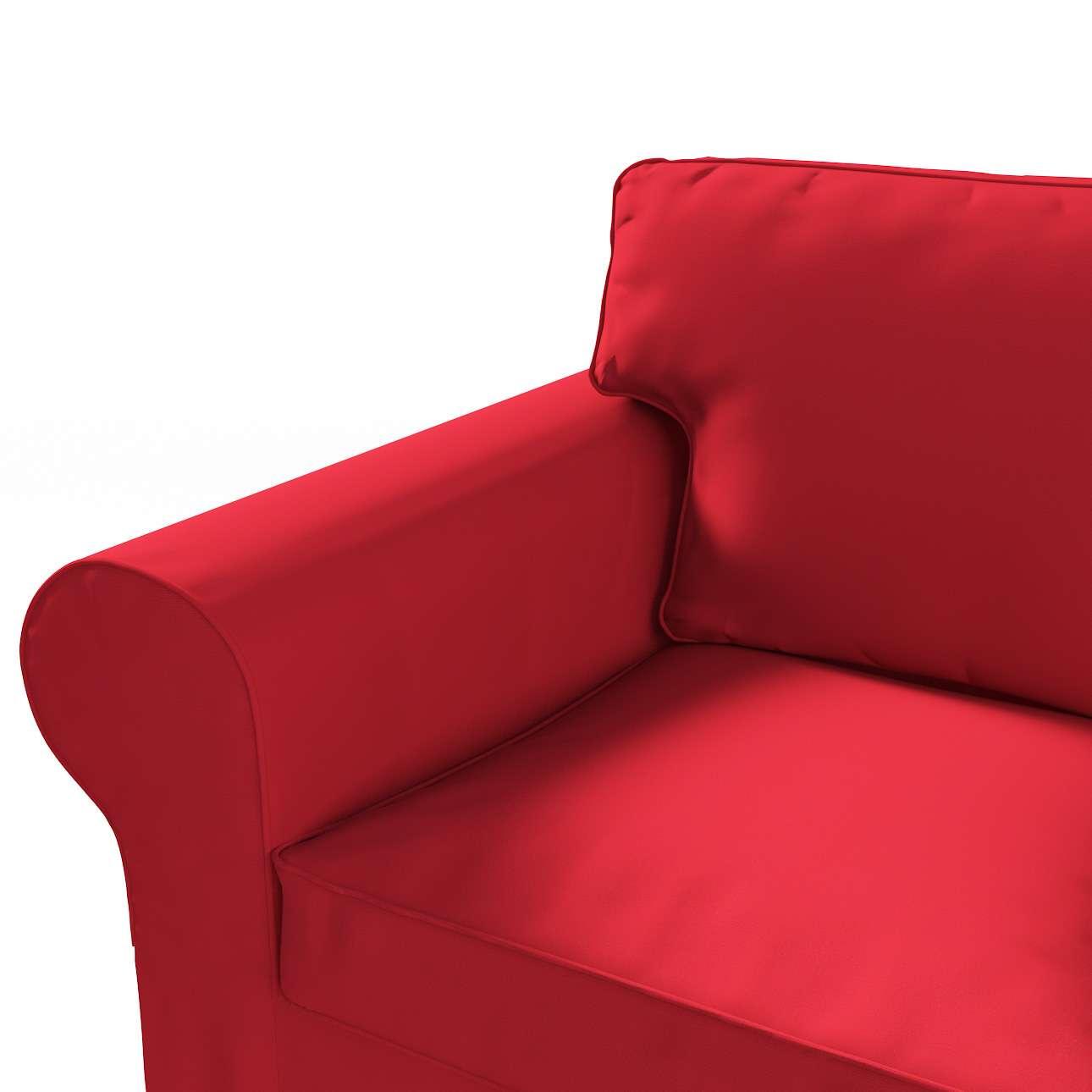 Ektorp 3-Sitzer Sofabezug nicht ausklappbar von der Kollektion Cotton Panama, Stoff: 702-04