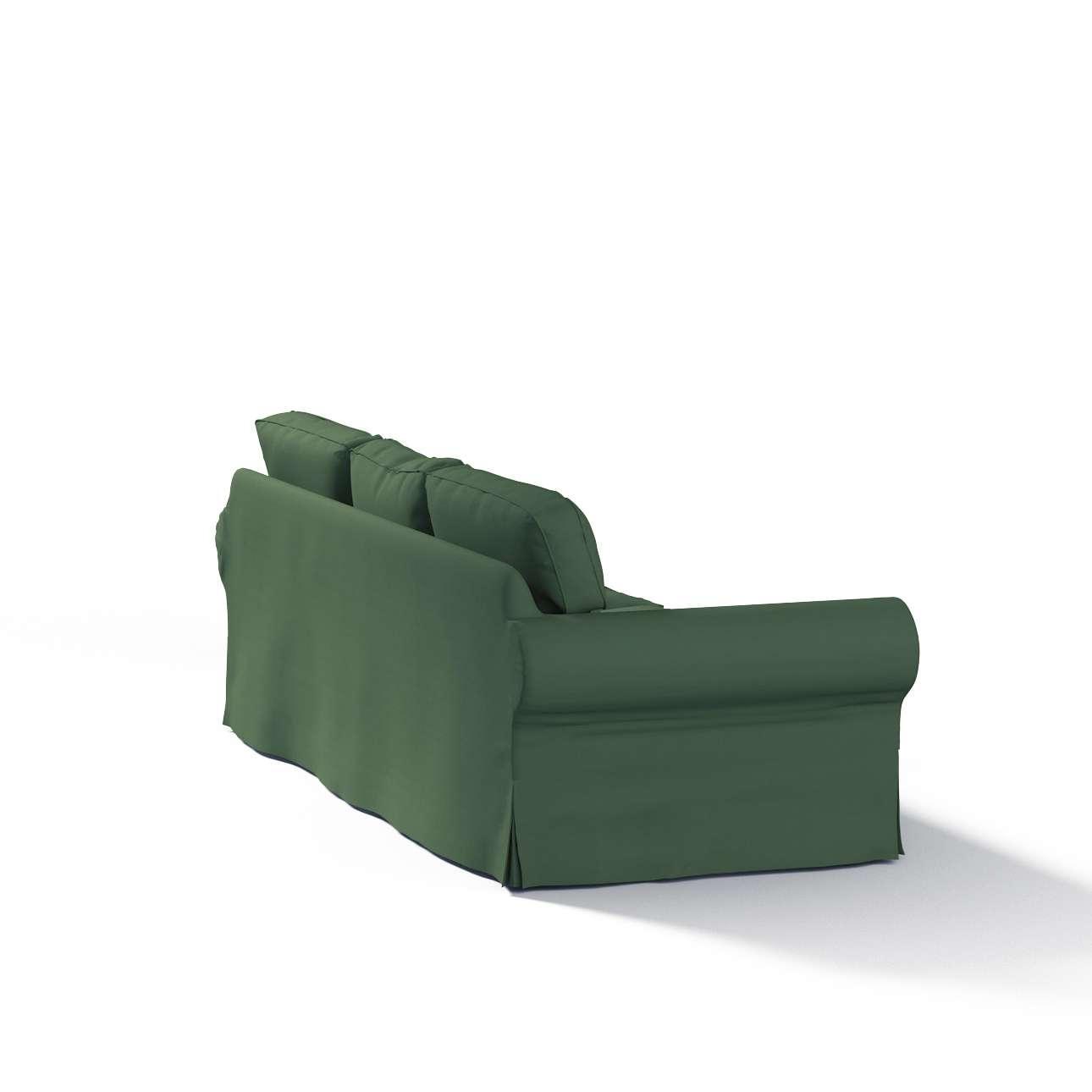 Ektorp 3 sæder Betræk uden sofa fra kollektionen Cotton Panama, Stof: 702-06
