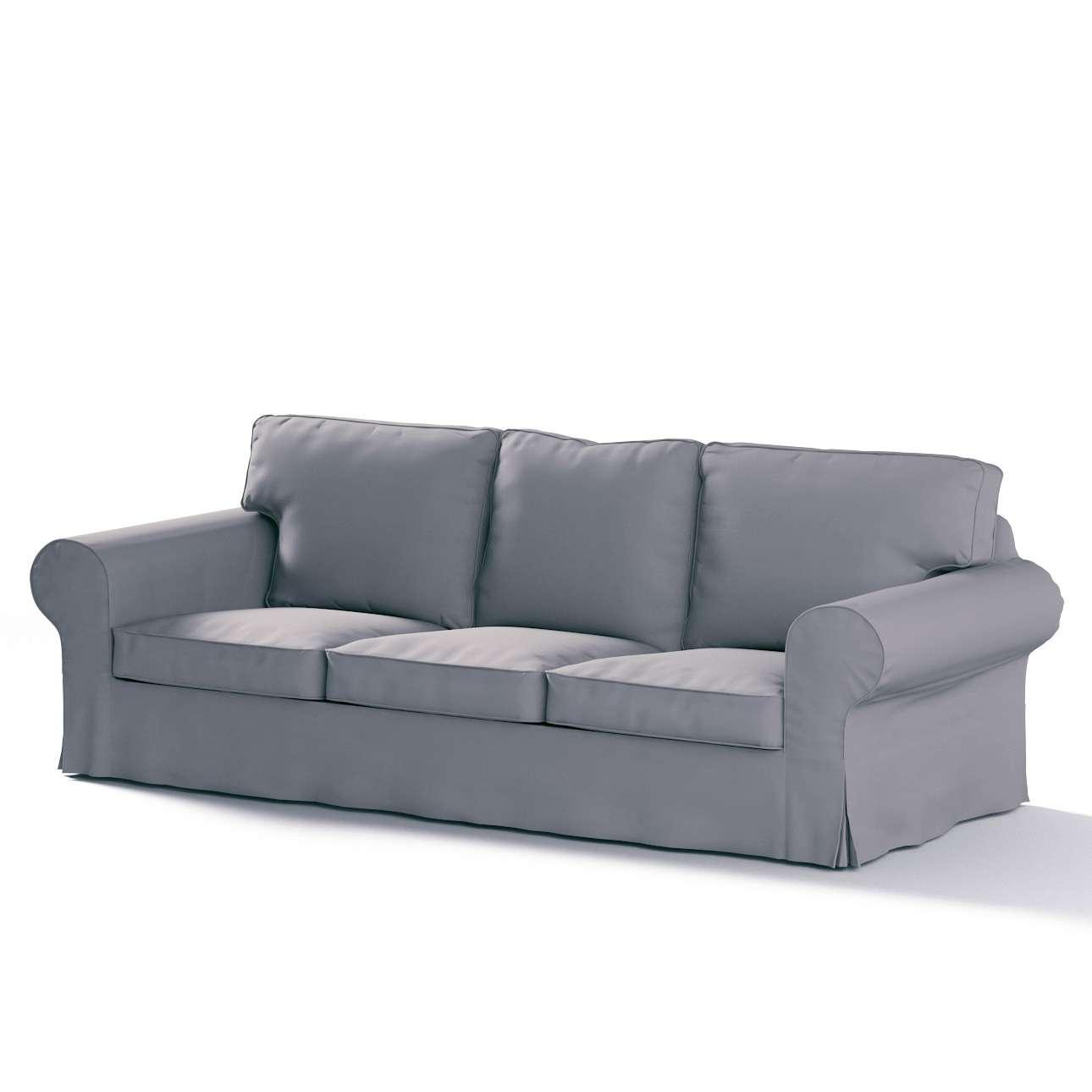 Potah na pohovku IKEA  Ektorp 3-místná, nerozkládací pohovka Ektorp 3-místná v kolekci Cotton Panama, látka: 702-07