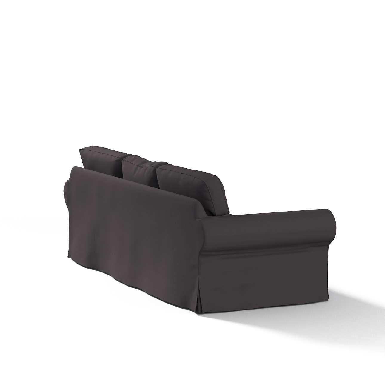 Ektorp 3 sæder Betræk uden sofa fra kollektionen Cotton Panama, Stof: 702-09