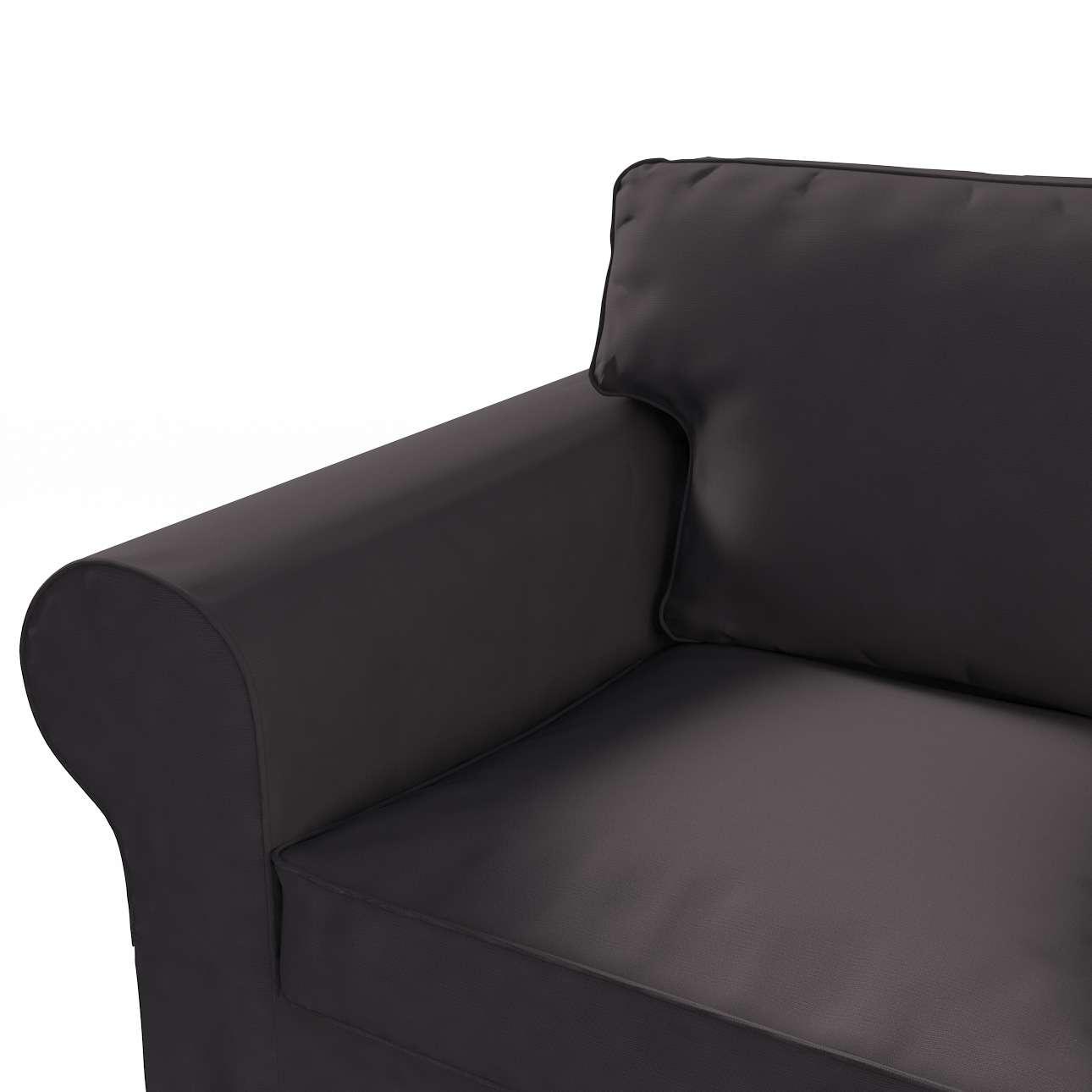 Pokrowiec na sofę Ektorp 3-osobową, nierozkładaną w kolekcji Cotton Panama, tkanina: 702-09