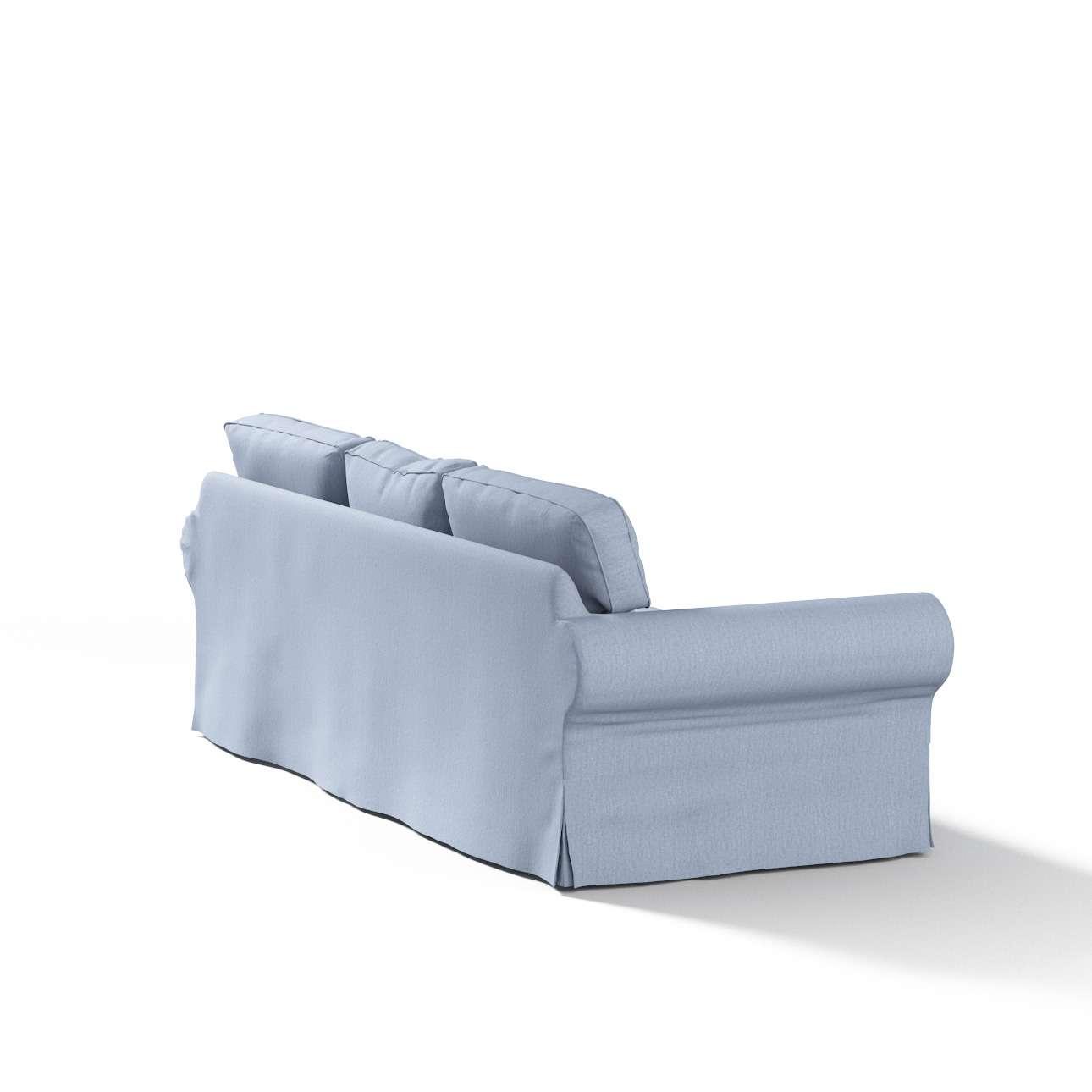 Pokrowiec na sofę Ektorp 3-osobową, nierozkładaną Sofa Ektorp 3-osobowa w kolekcji Chenille, tkanina: 702-13