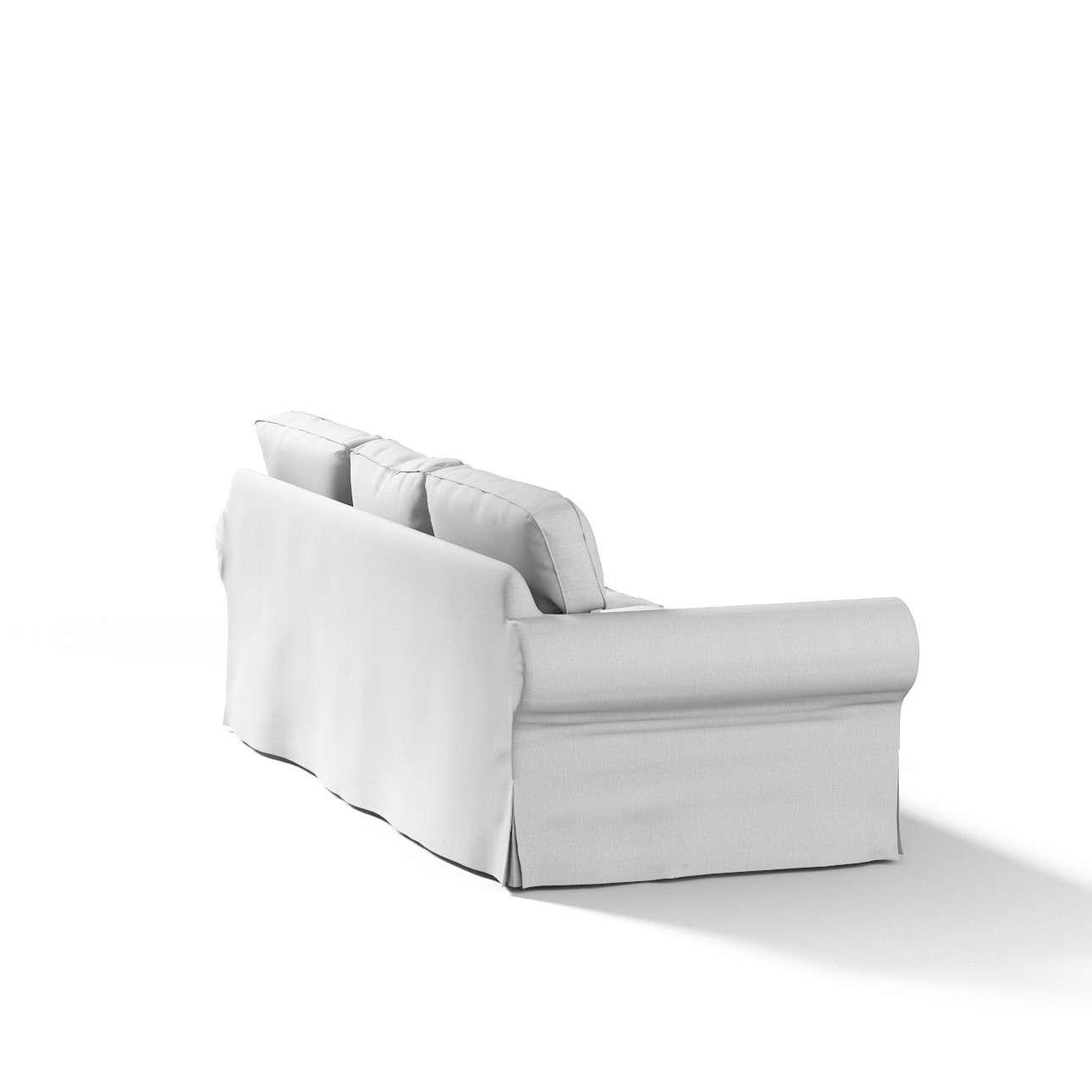 Potah na pohovku IKEA  Ektorp 3-místná, nerozkládací pohovka Ektorp 3-místná v kolekci Chenille , látka: 702-23