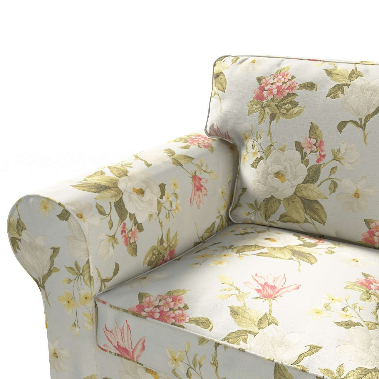 Ektorp 3 sæder Betræk uden sofa fra kollektionen Londres, Stof: 123-65