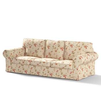 Ektorp 3-Sitzer Sofabezug nicht ausklappbar von der Kollektion Londres, Stoff: 124-05