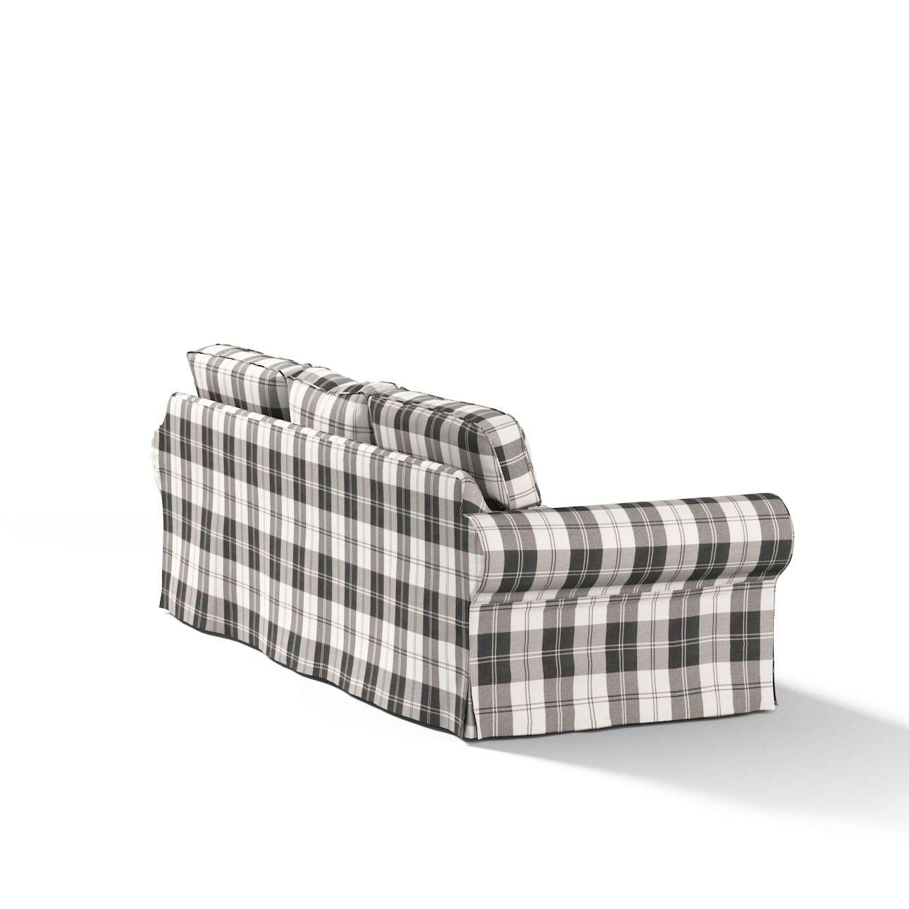 Potah na pohovku IKEA  Ektorp 3-místná, nerozkládací pohovka Ektorp 3-místná v kolekci Edinburgh, látka: 115-74