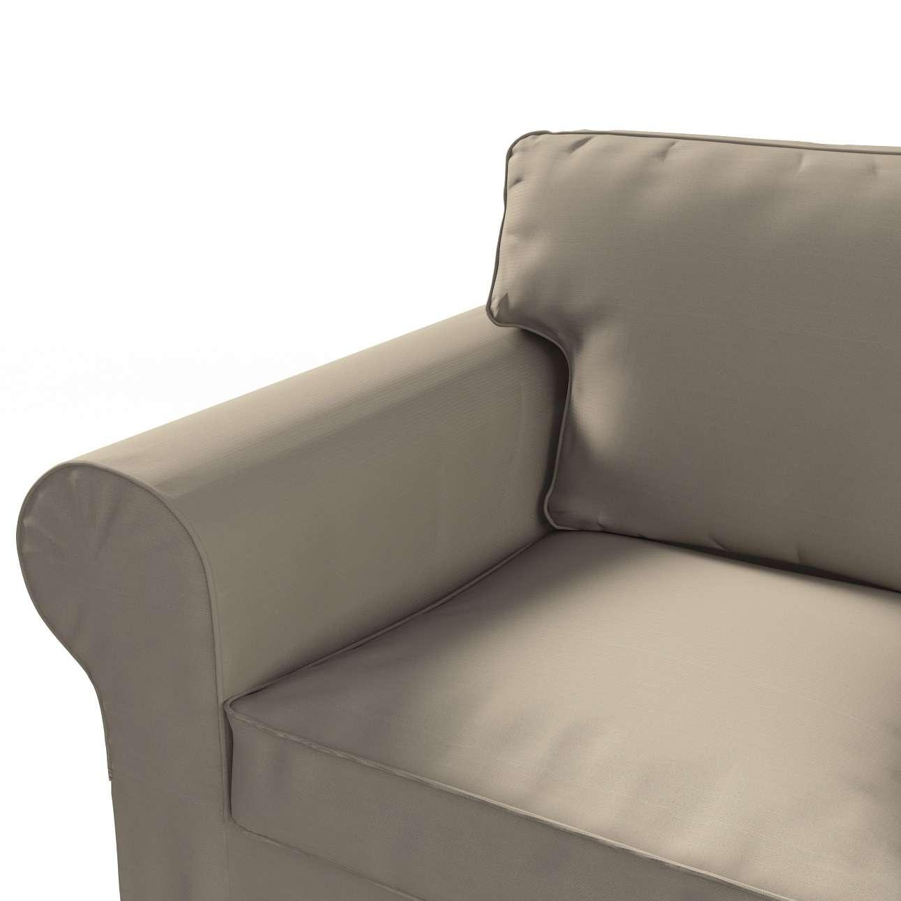 Ektorp 3-Sitzer Sofabezug nicht ausklappbar von der Kollektion Cotton Panama, Stoff: 702-28