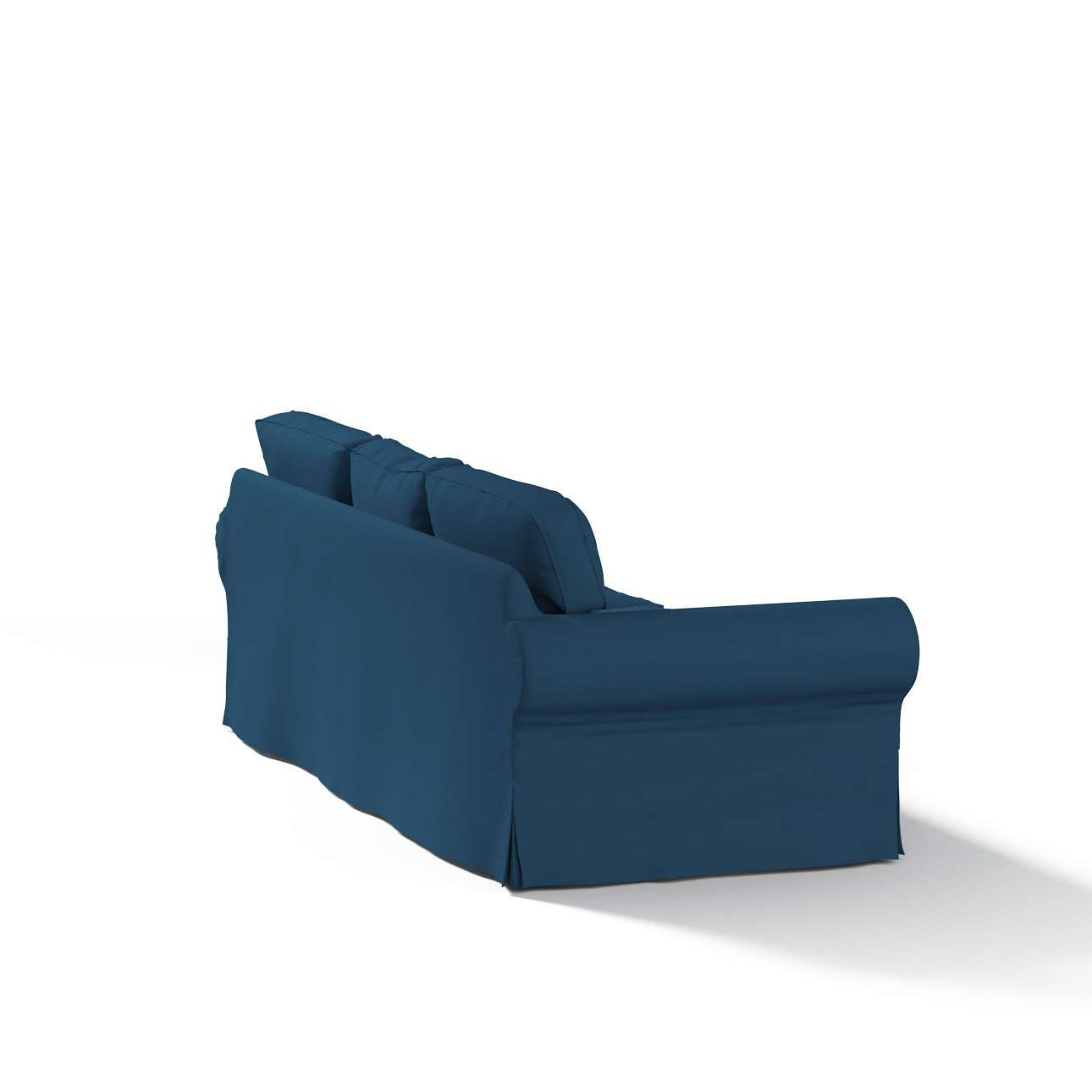 Ektorp trivietės sofos užvalkalas Ektorp trivietės sofos užvalkalas kolekcijoje Cotton Panama, audinys: 702-30