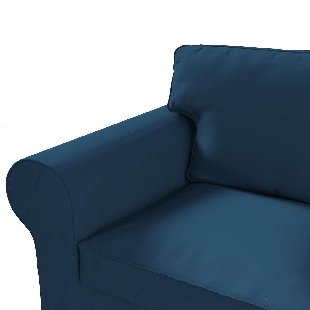 Ektorp 3-Sitzer Sofabezug nicht ausklappbar Sofabezug für  Ektorp 3-Sitzer nicht ausklappbar von der Kollektion Cotton Panama, Stoff: 702-30