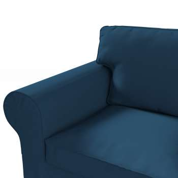 Pokrowiec na sofę Ektorp 3-osobową, nierozkładaną w kolekcji Cotton Panama, tkanina: 702-30