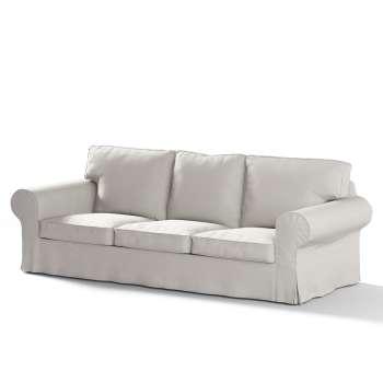 Ektorp 3-Sitzer Sofabezug nicht ausklappbar Sofabezug für  Ektorp 3-Sitzer nicht ausklappbar von der Kollektion Cotton Panama, Stoff: 702-31
