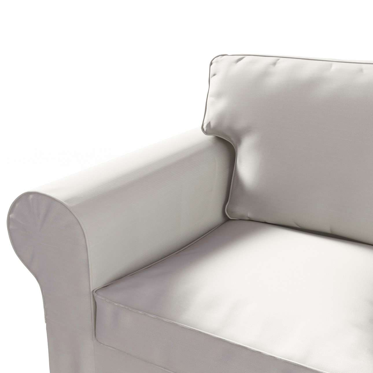 Potah na pohovku IKEA  Ektorp 3-místná, nerozkládací pohovka Ektorp 3-místná v kolekci Cotton Panama, látka: 702-31