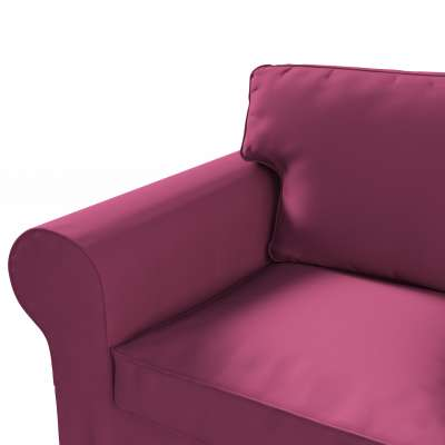 Pokrowiec na sofę Ektorp 3-osobową, nierozkładaną w kolekcji Cotton Panama, tkanina: 702-32