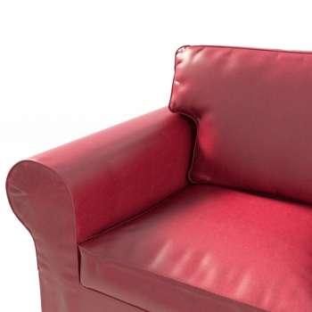 Pokrowiec na sofę Ektorp 3-osobową, nierozkładaną Sofa Ektorp 3-osobowa w kolekcji Eco-leather do -30%, tkanina: 104-49
