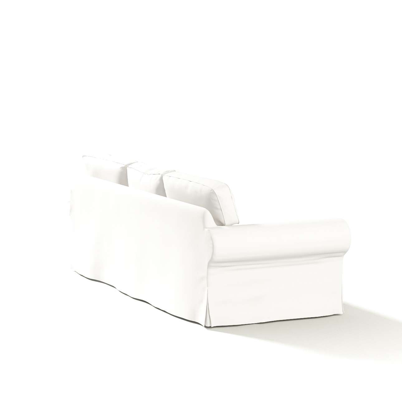 Potah na pohovku IKEA  Ektorp 3-místná, nerozkládací pohovka Ektorp 3-místná v kolekci Cotton Panama, látka: 702-34