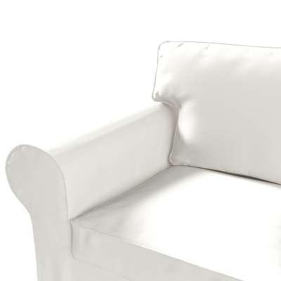 Pokrowiec na sofę Ektorp 3-osobową, nierozkładaną w kolekcji Cotton Panama, tkanina: 702-34
