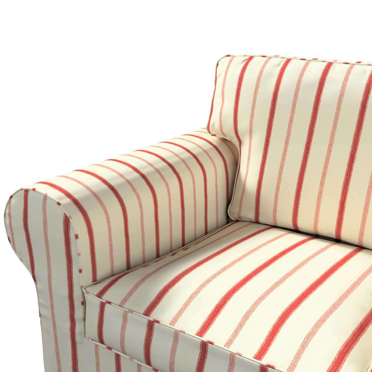 Potah na pohovku IKEA  Ektorp 3-místná, nerozkládací pohovka Ektorp 3-místná v kolekci Avignon, látka: 129-15