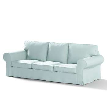 Ektorp 3-Sitzer Sofabezug nicht ausklappbar von der Kollektion Cotton Panama, Stoff: 702-10
