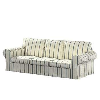 Ektorp 3-Sitzer Sofabezug nicht ausklappbar von der Kollektion Avinon, Stoff: 129-66