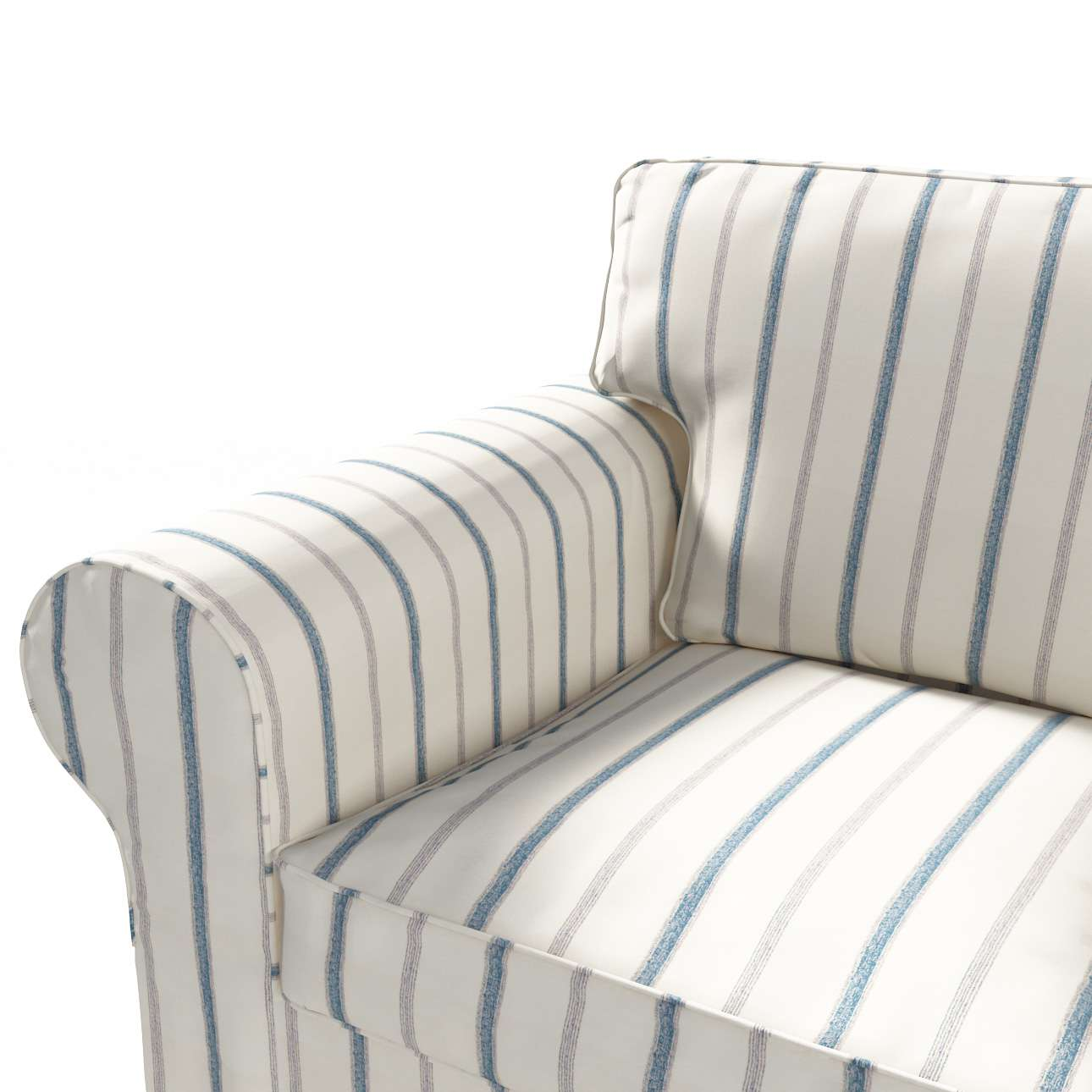 Ektorp 3-Sitzer Sofabezug nicht ausklappbar Sofabezug für  Ektorp 3-Sitzer nicht ausklappbar von der Kollektion Avinon, Stoff: 129-66