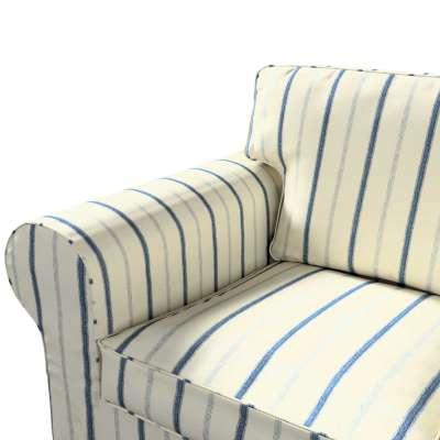 Pokrowiec na sofę Ektorp 3-osobową, nierozkładaną w kolekcji Avinon, tkanina: 129-66