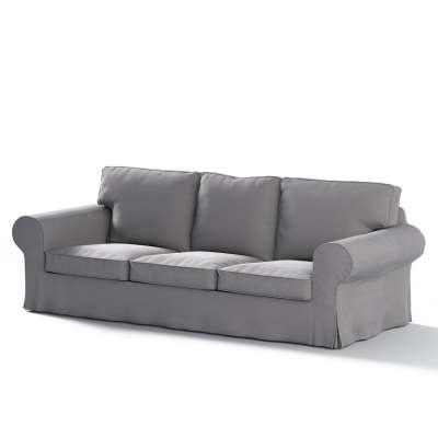 Pokrowiec na sofę Ektorp 3-osobową, nierozkładaną w kolekcji Velvet, tkanina: 704-11