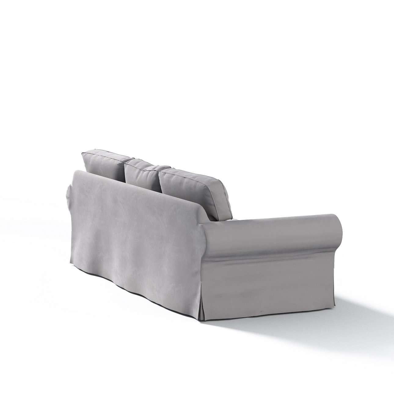 Bezug für Ektorp 3-Sitzer Sofa nicht ausklappbar von der Kollektion Velvet, Stoff: 704-11