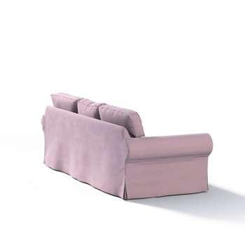 Pokrowiec na sofę Ektorp 3-osobową, nierozkładaną w kolekcji Velvet, tkanina: 704-14