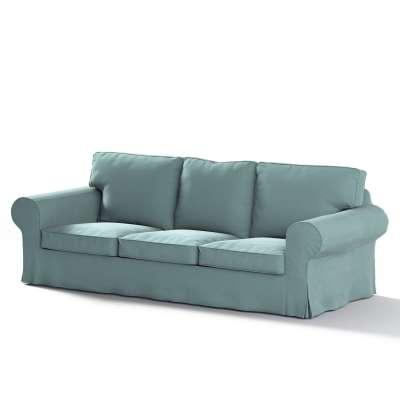 Pokrowiec na sofę Ektorp 3-osobową, nierozkładaną w kolekcji Velvet, tkanina: 704-18