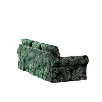 Bezug für Ektorp 3-Sitzer Sofa nicht ausklappbar von der Kollektion Velvet, Stoff: 704-21