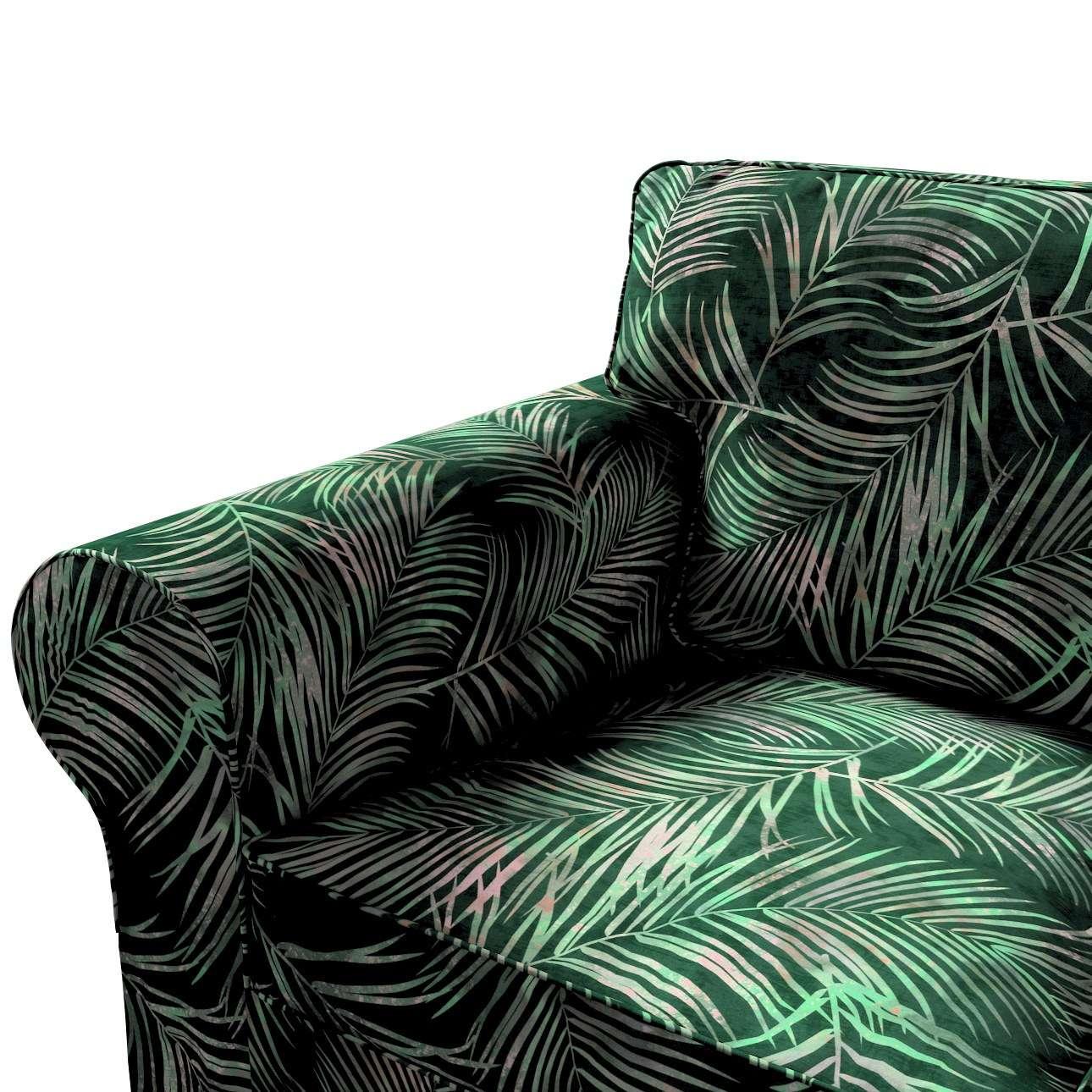 Pokrowiec na sofę Ektorp 3-osobową, nierozkładaną w kolekcji Velvet, tkanina: 704-21