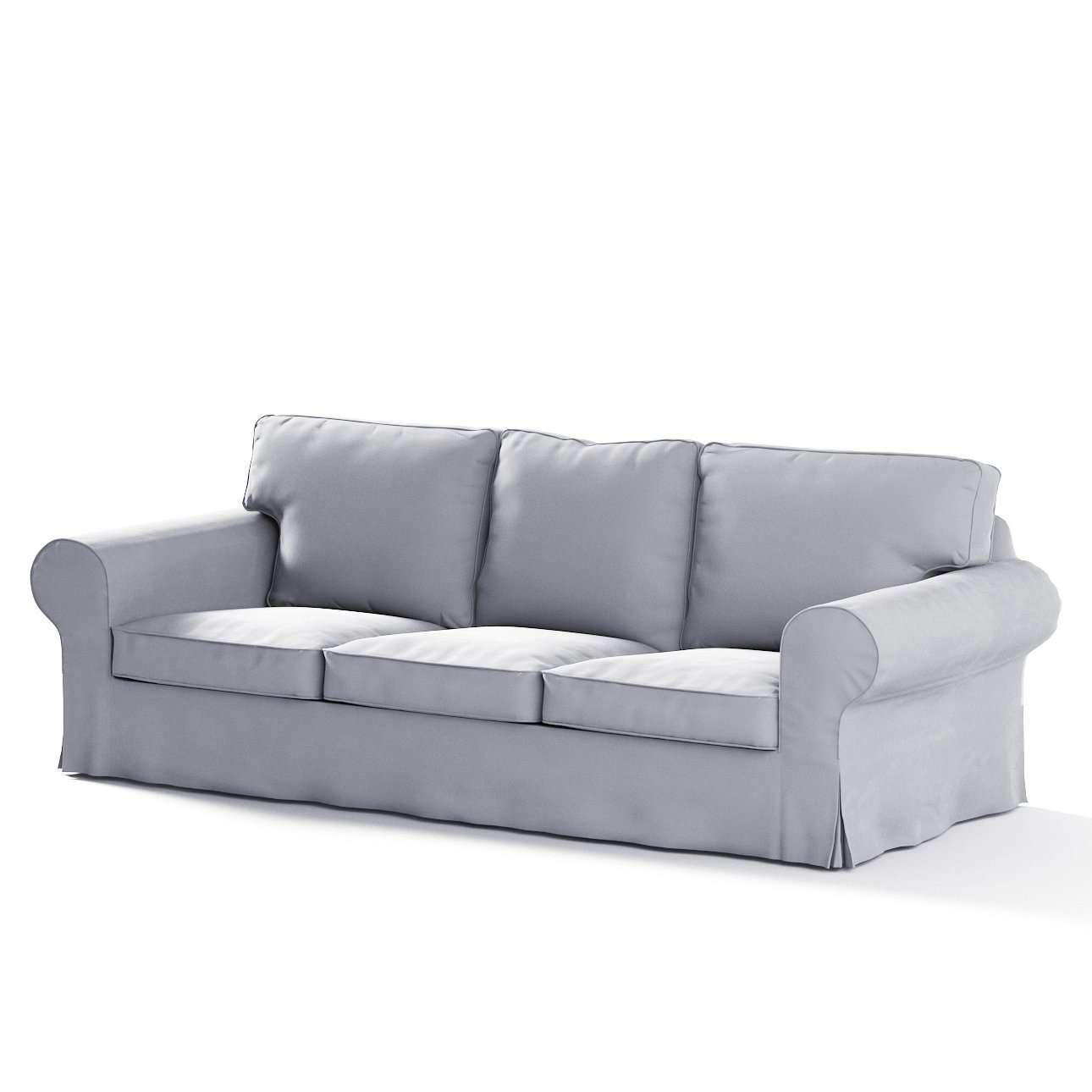 Pokrowiec na sofę Ektorp 3-osobową, nierozkładaną w kolekcji Velvet, tkanina: 704-24