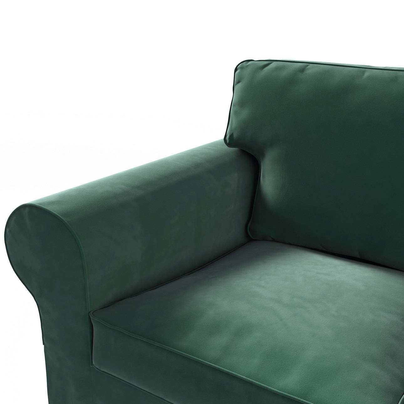 ektorp velvet dunkelgr n ektorp 3 sitzer sofabezug nicht ausklappbar. Black Bedroom Furniture Sets. Home Design Ideas