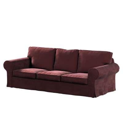 Pokrowiec na sofę Ektorp 3-osobową, nierozkładaną w kolekcji Velvet, tkanina: 704-26