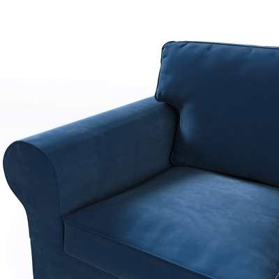Pokrowiec na sofę Ektorp 3-osobową, nierozkładaną w kolekcji Velvet, tkanina: 704-29