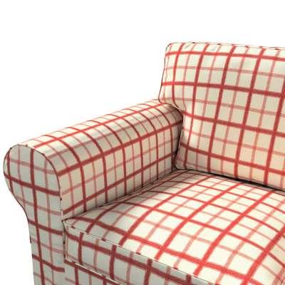 Pokrowiec na sofę Ektorp 3-osobową, nierozkładaną w kolekcji Avinon, tkanina: 131-15