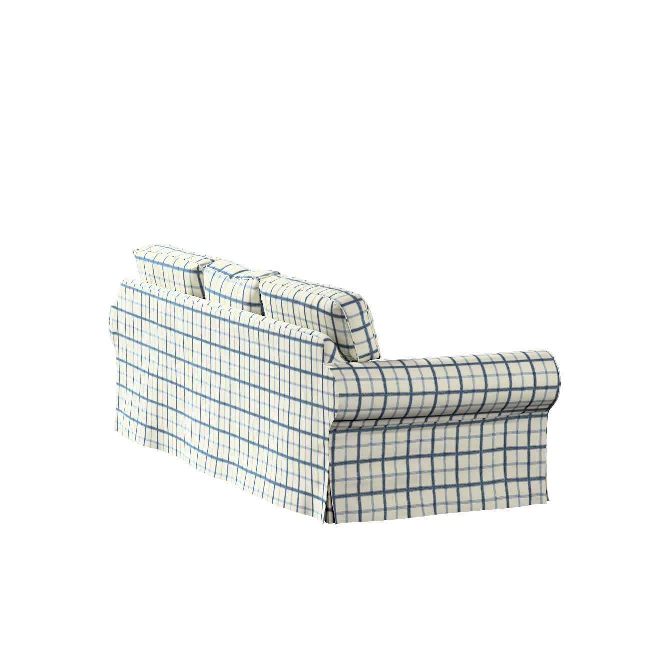 Pokrowiec na sofę Ektorp 3-osobową, nierozkładaną w kolekcji Avinon, tkanina: 131-66