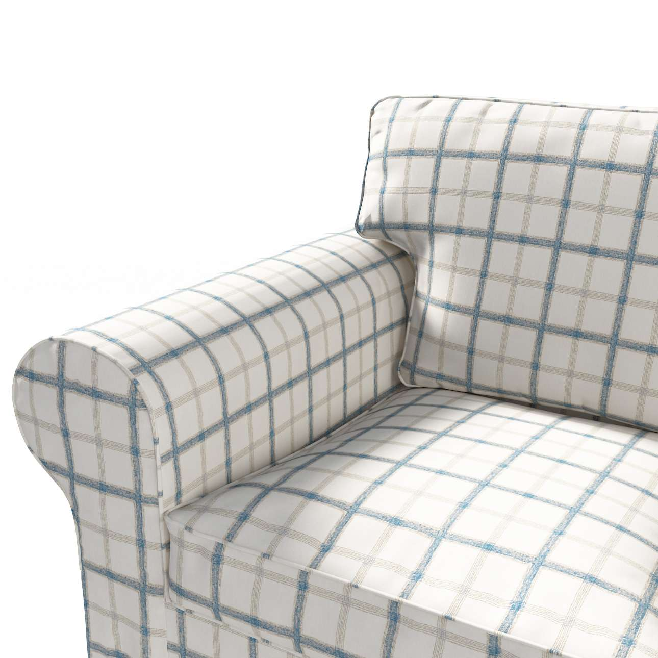 Ektorp 3-Sitzer Sofabezug nicht ausklappbar von der Kollektion Avinon, Stoff: 131-66