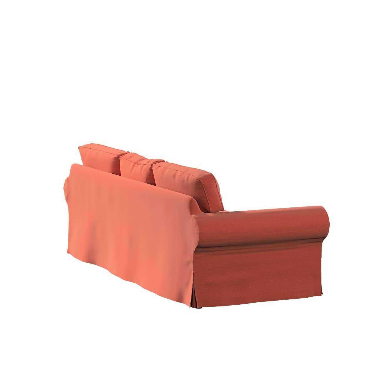 Pokrowiec na sofę Ektorp 3-osobową, nierozkładaną w kolekcji Ingrid, tkanina: 705-37