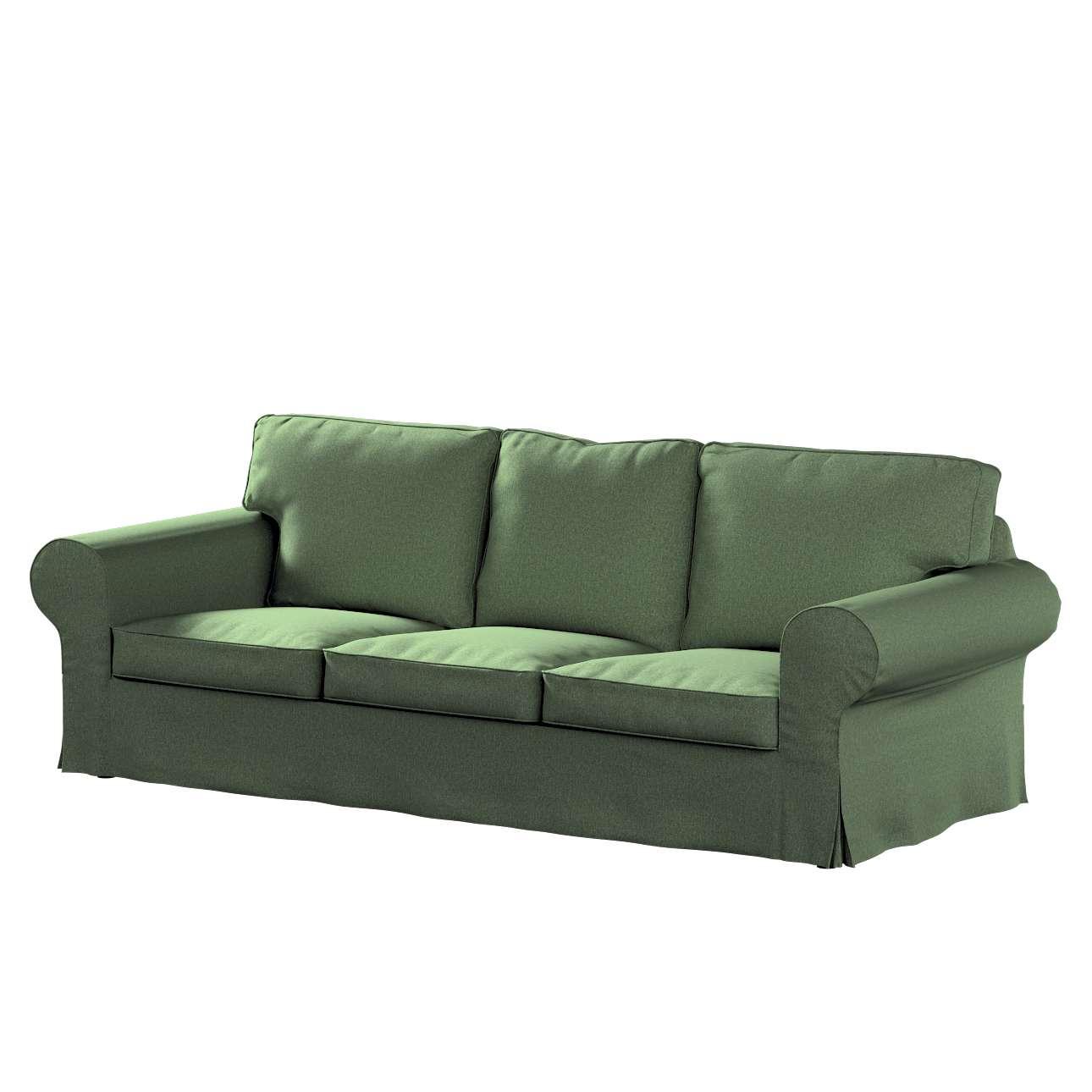 Pokrowiec na sofę Ektorp 3-osobową, nierozkładaną w kolekcji Amsterdam, tkanina: 704-44