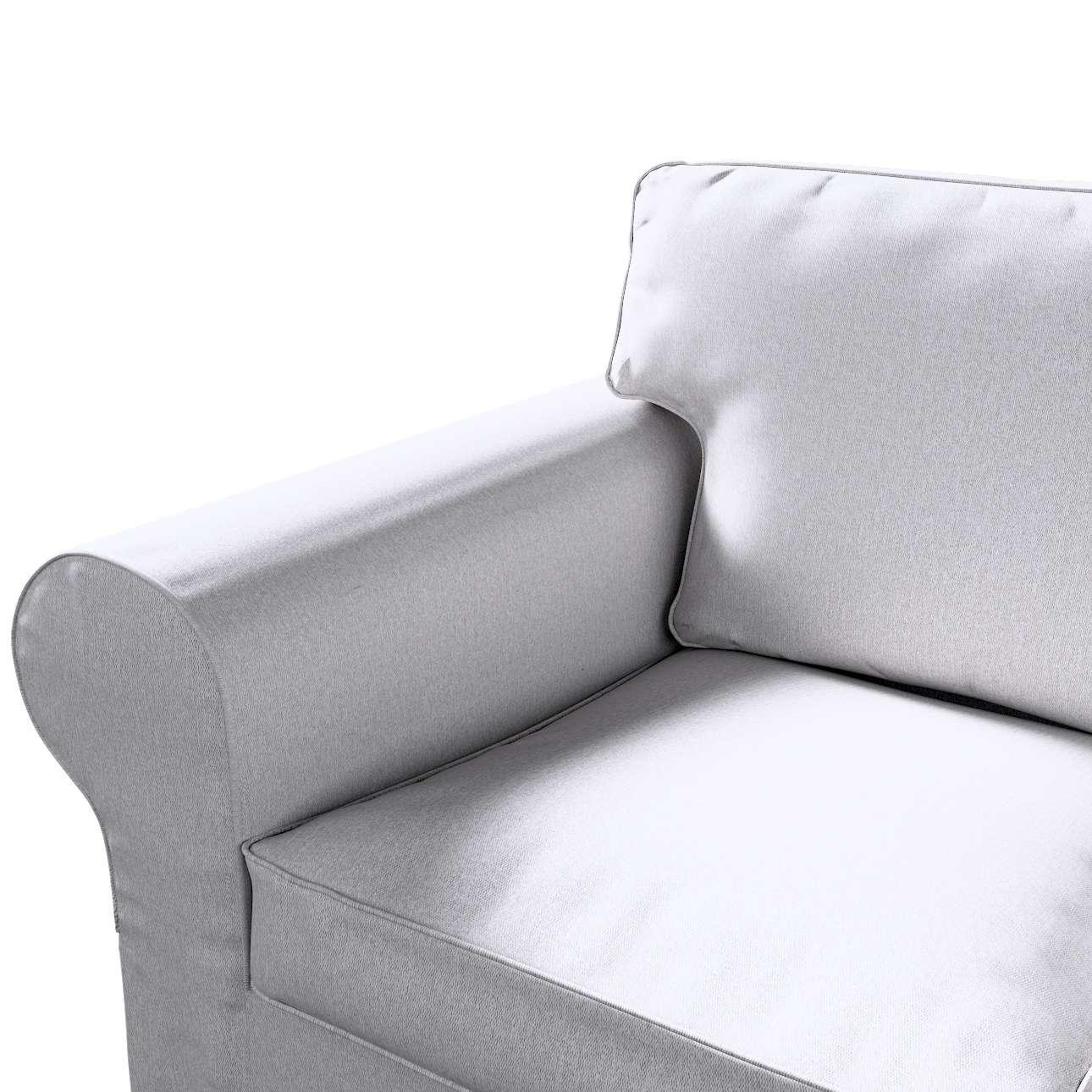 Pokrowiec na sofę Ektorp 3-osobową, nierozkładaną w kolekcji Amsterdam, tkanina: 704-45