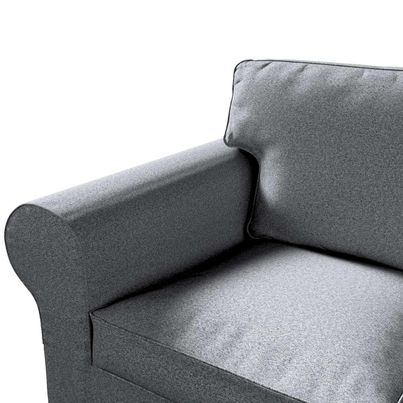 Pokrowiec na sofę Ektorp 3-osobową, nierozkładaną w kolekcji Amsterdam, tkanina: 704-47