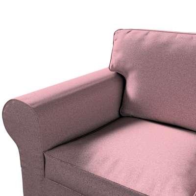 Pokrowiec na sofę Ektorp 3-osobową, nierozkładaną w kolekcji Amsterdam, tkanina: 704-48