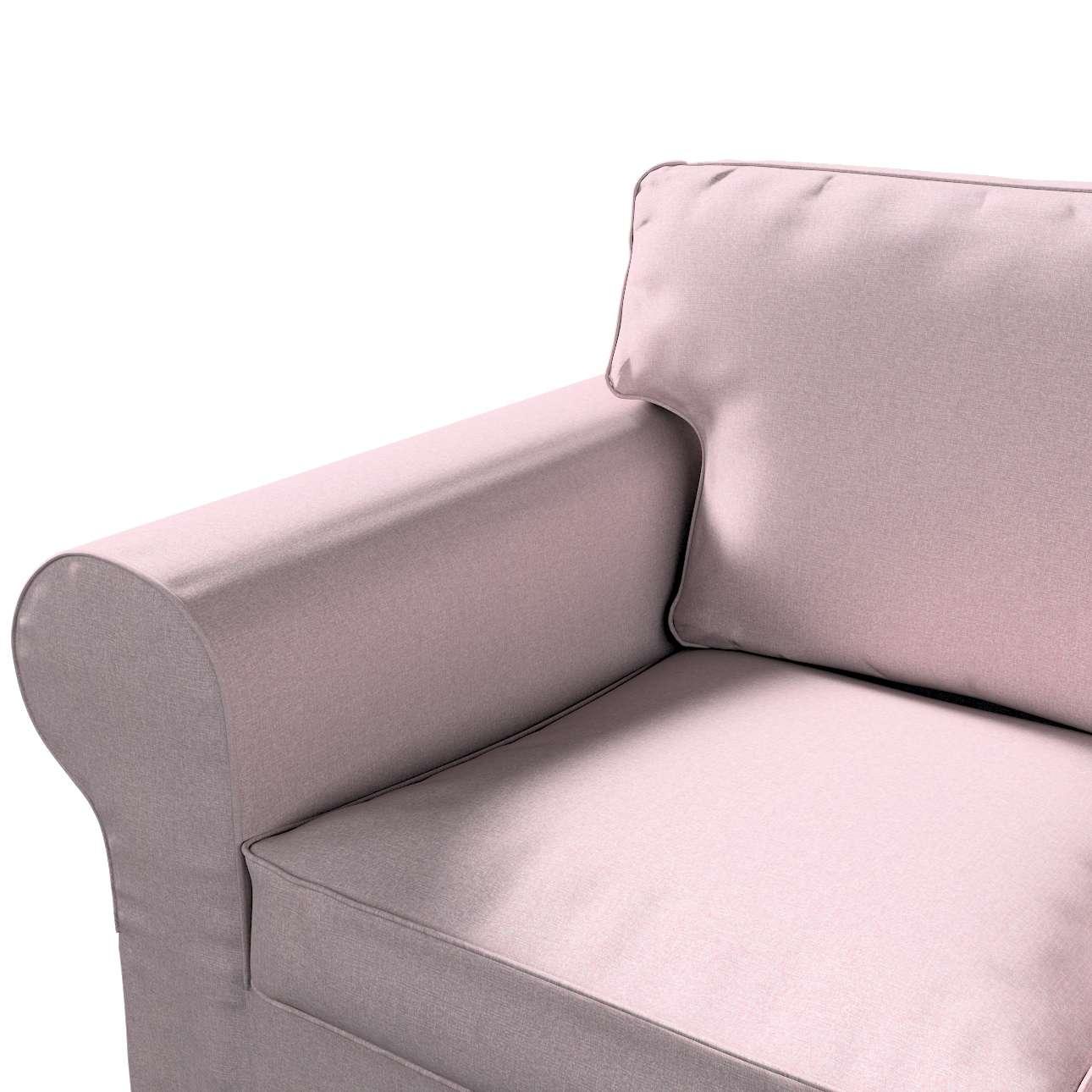 Pokrowiec na sofę Ektorp 3-osobową, nierozkładaną w kolekcji Amsterdam, tkanina: 704-51
